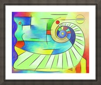 Wainissium - stairway to the sun Picture Frame print