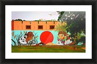 Beautiful Mural OKC Picture Frame print