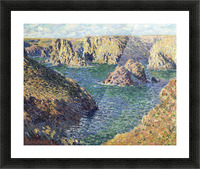 Port-Donnant by Monet Picture Frame print
