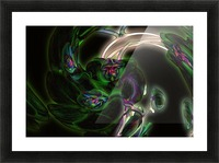 Orchid in Glow Picture Frame print