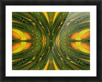 Green Mystical Butterfly 1 Picture Frame print