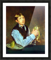 Portait of Leon Leenhoff by Manet Picture Frame print