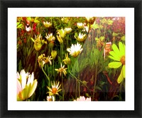 forest of flowers Picture Frame print