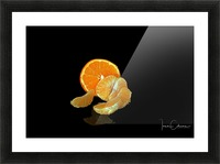 Clemantine Picture Frame print