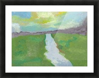 The River Picture Frame print