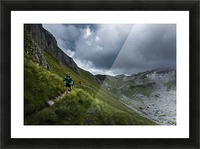 Mountain people  Picture Frame print