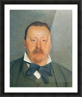 Portrait of Alfred Delisle by Felix Vallotton Picture Frame print