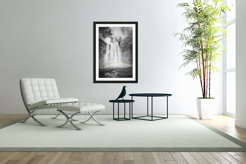 ICELAND Skogafoss in Custom Picture Frame