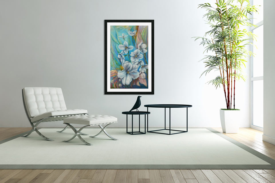 White color in Custom Picture Frame