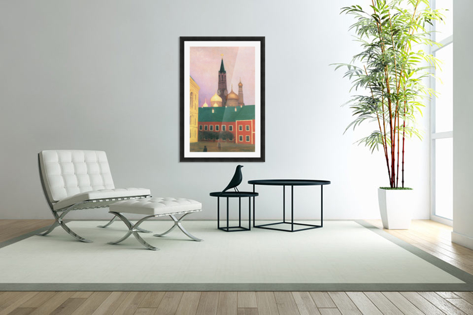 View of the Kremlin in Moscow by Felix Vallotton in Custom Picture Frame