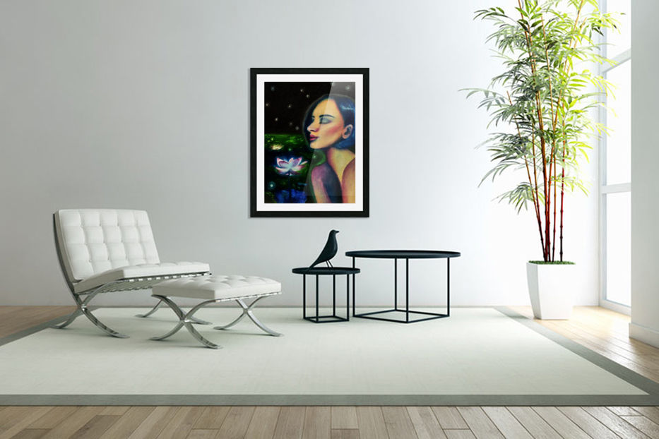 Nocturne in Custom Picture Frame