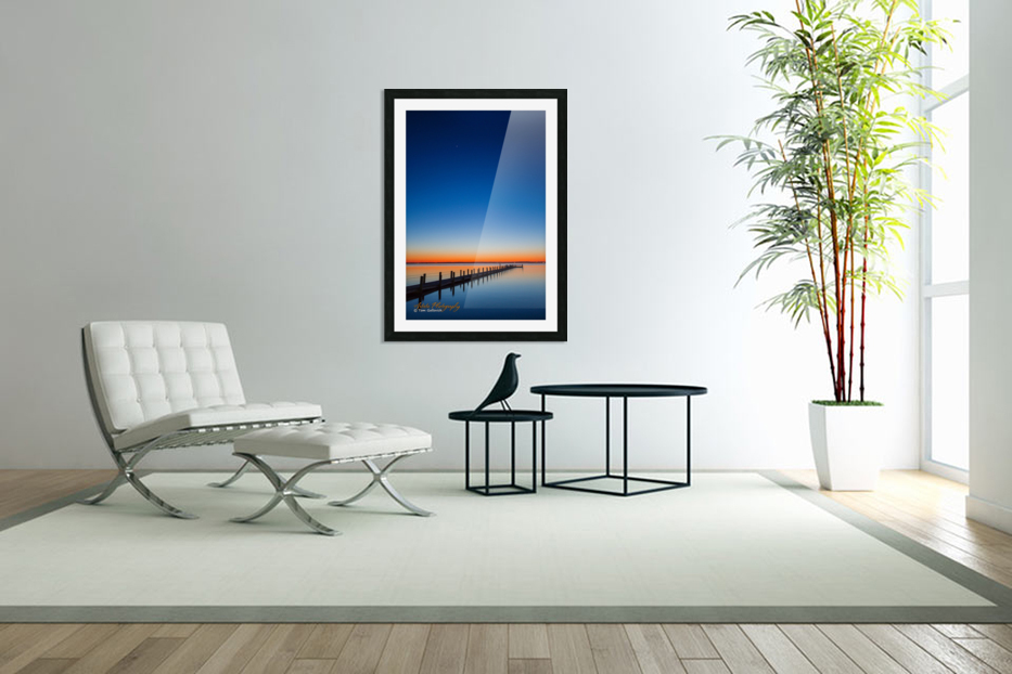 Sunset - APC-129 in Custom Picture Frame