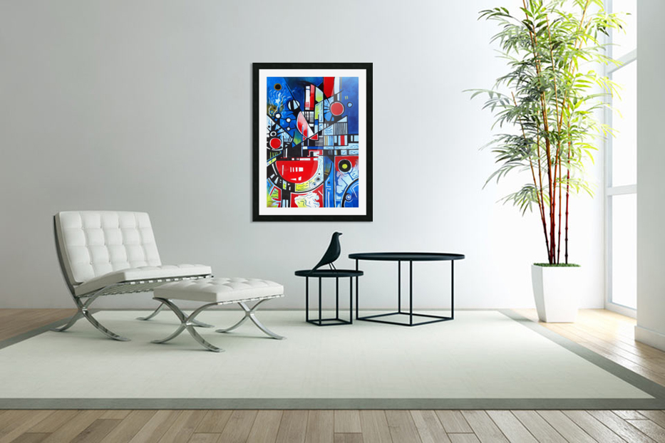 Absolute Abstracts 24 in Custom Picture Frame