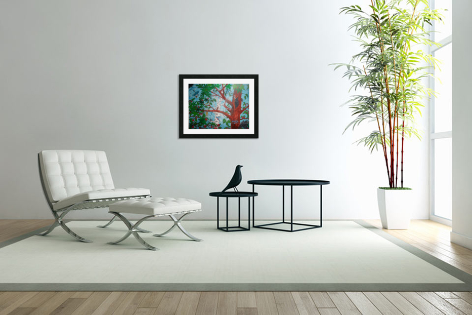 Nature and Peace in Custom Picture Frame