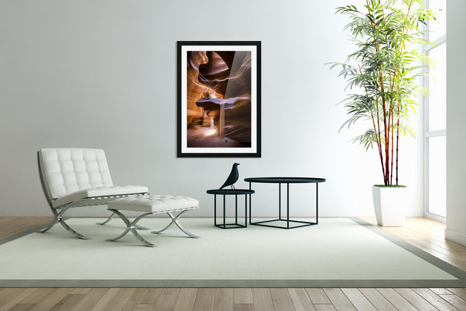 Sand Fall in Custom Picture Frame