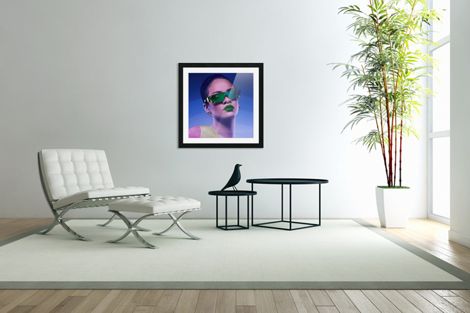 Rihanna in Custom Picture Frame