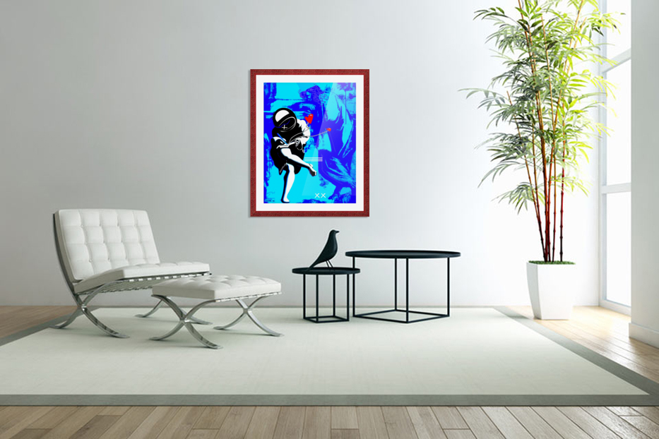 Use your Illusion II in Custom Picture Frame