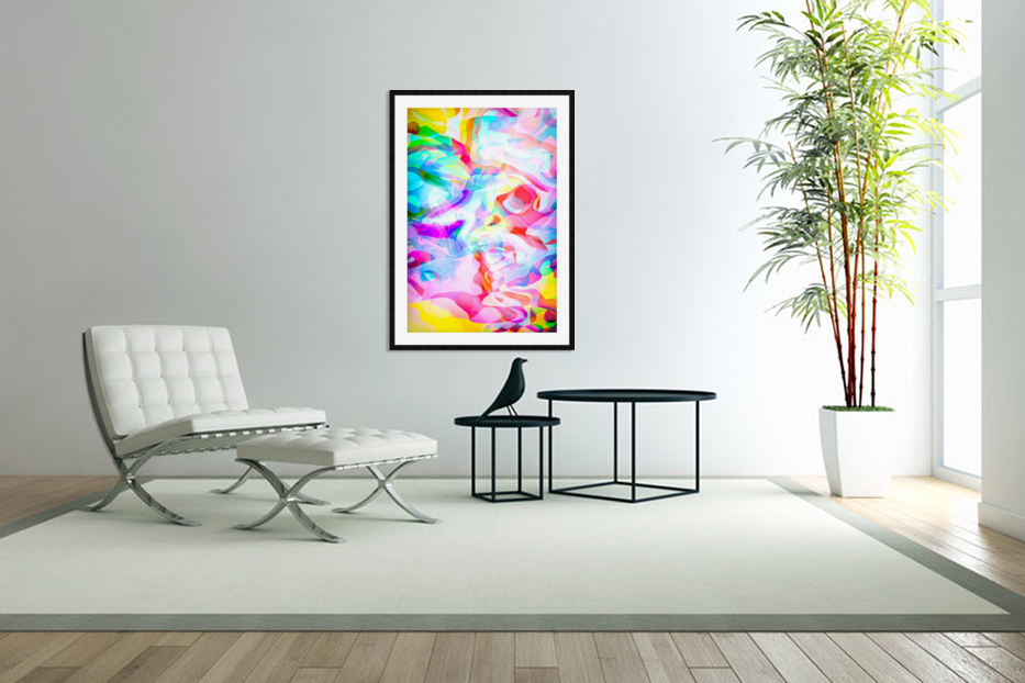 VIVID Abstraction I in Custom Picture Frame