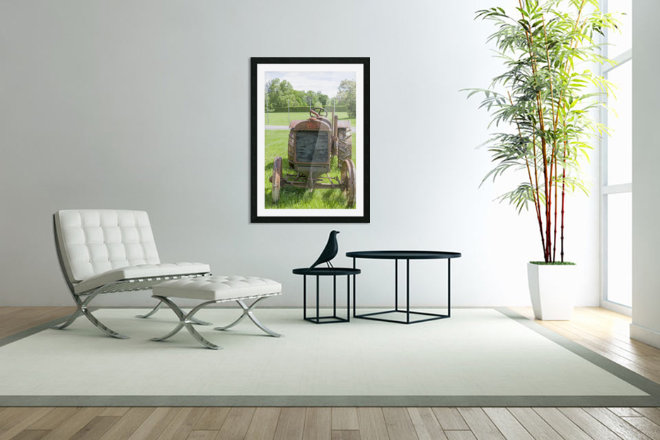 McCormick-Deering gasoline tractor 1 in Custom Picture Frame