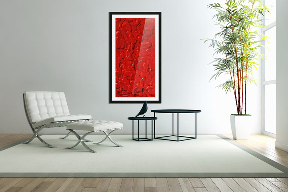 Red cells in Custom Picture Frame