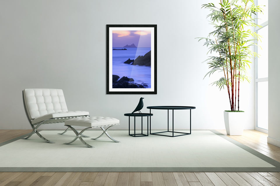KY 281 Ballinskelligs Bay  in Custom Picture Frame