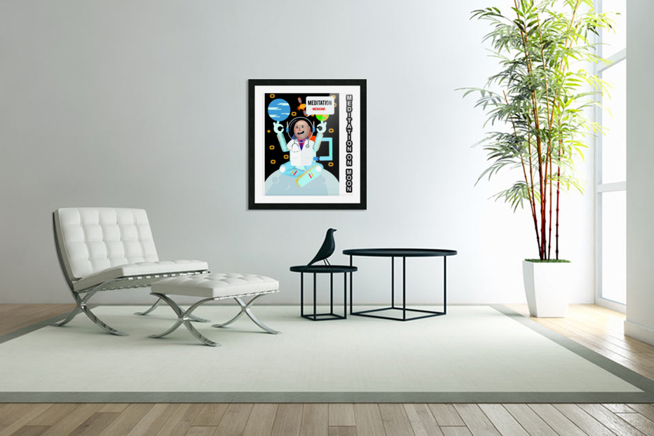 Meditation motivation  in Custom Picture Frame