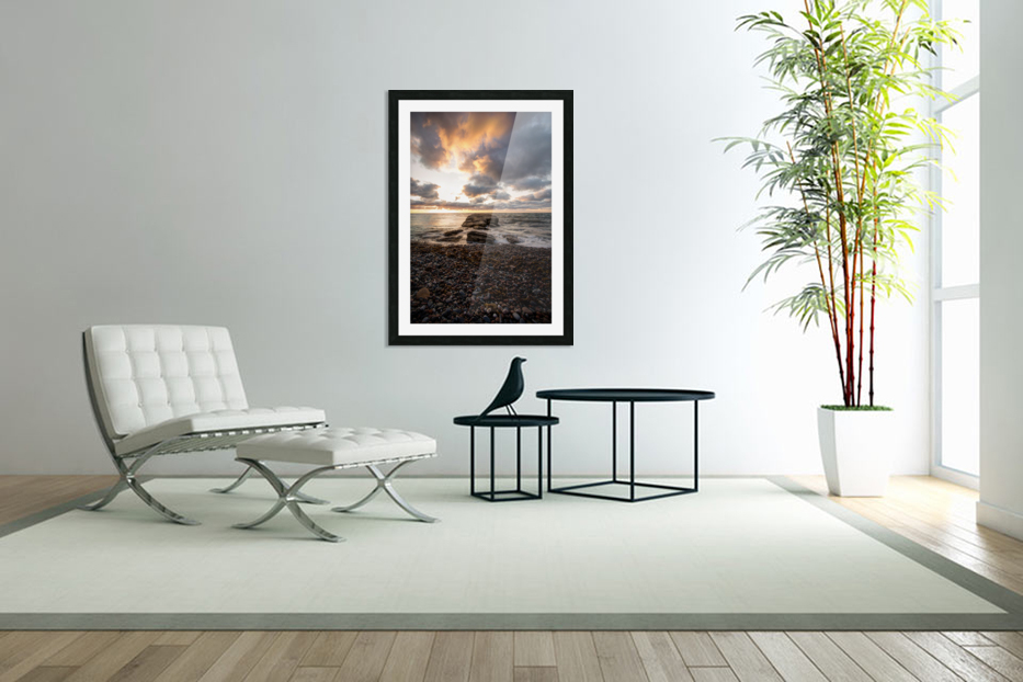 Chase the light in Custom Picture Frame
