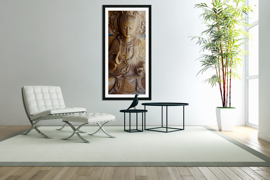 Quan Yin Compassion in Custom Picture Frame