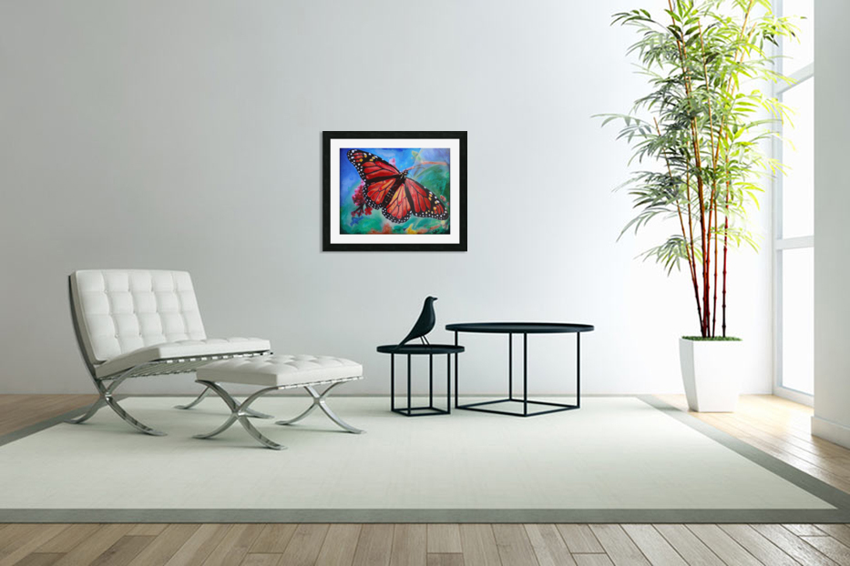 Colorado Butterfly in Custom Picture Frame