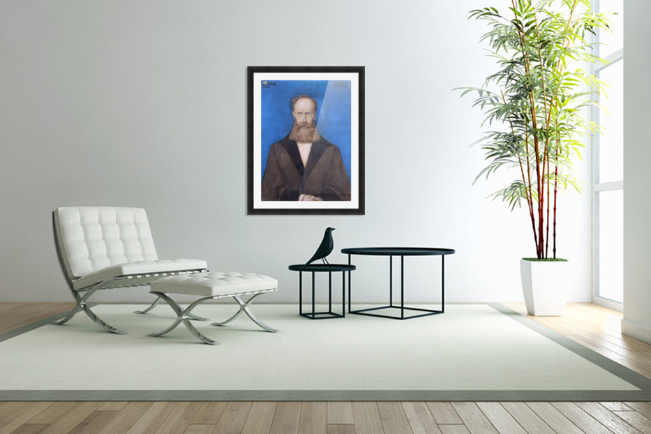 Otto Lanz in Custom Picture Frame
