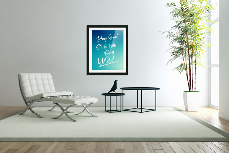 You are great  in Custom Picture Frame