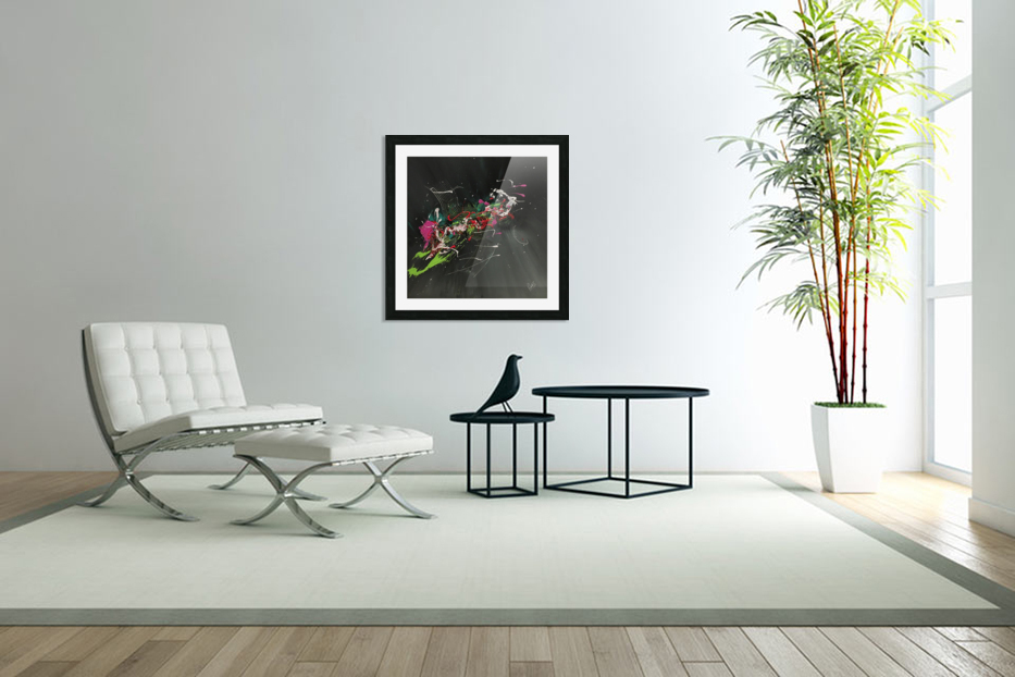 BIRD OF PARADISE in Custom Picture Frame
