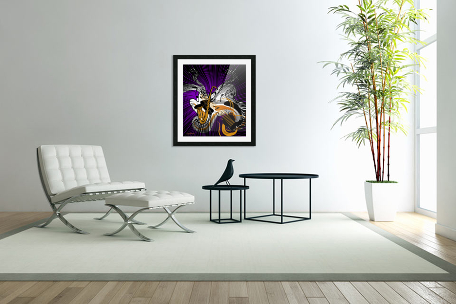 jazz vibes in Custom Picture Frame