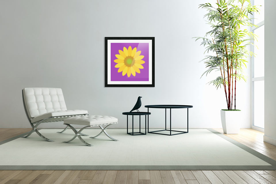 Sunflower (11)_1559876729.3965 in Custom Picture Frame