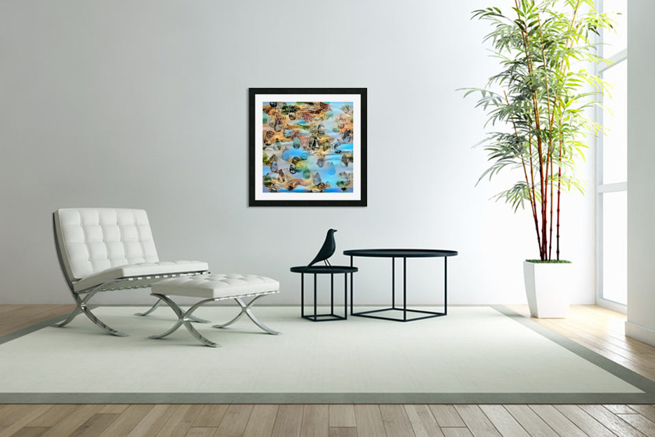 Nature Art in Custom Picture Frame