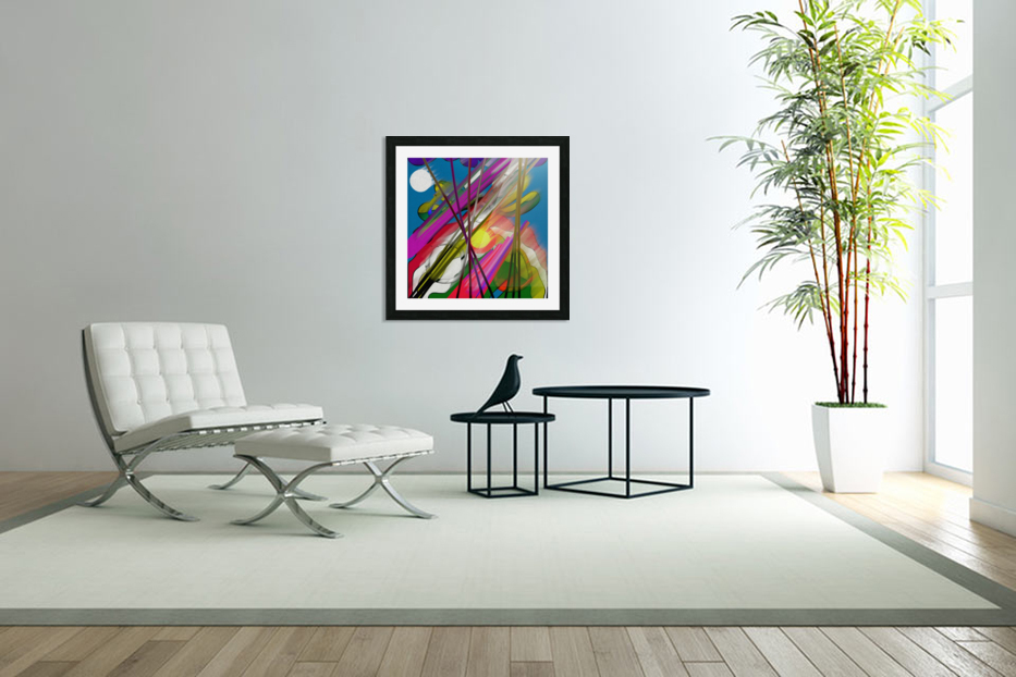 Happy Colors in Custom Picture Frame