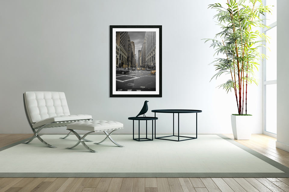 New York City  in Custom Picture Frame