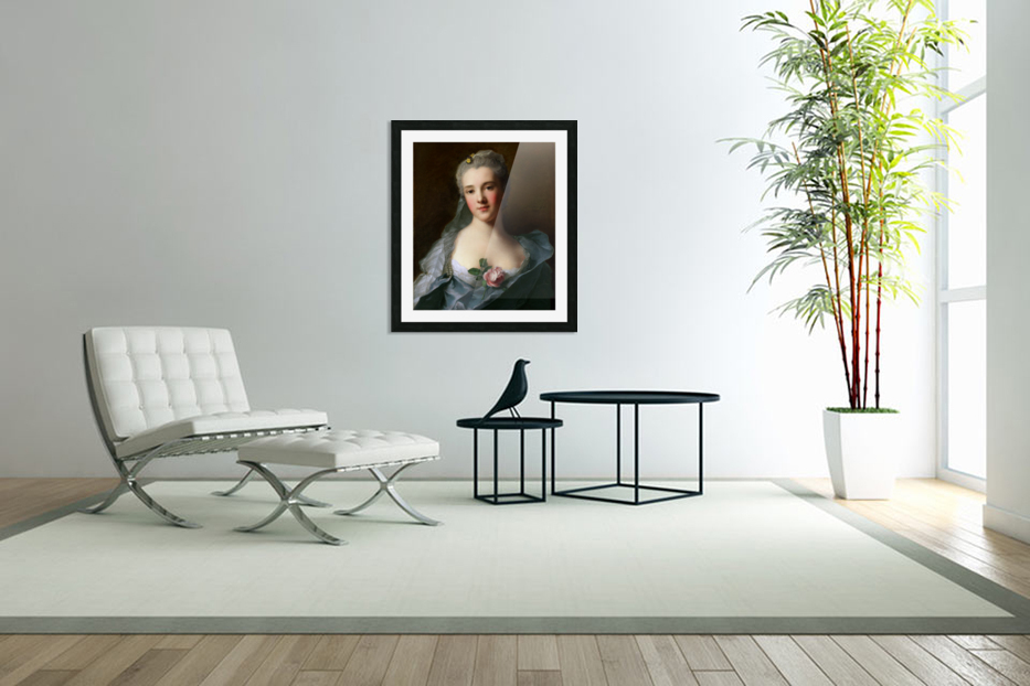 Manon Balletti by Jean-Marc Nattier - Old Masters Prints in Custom Picture Frame