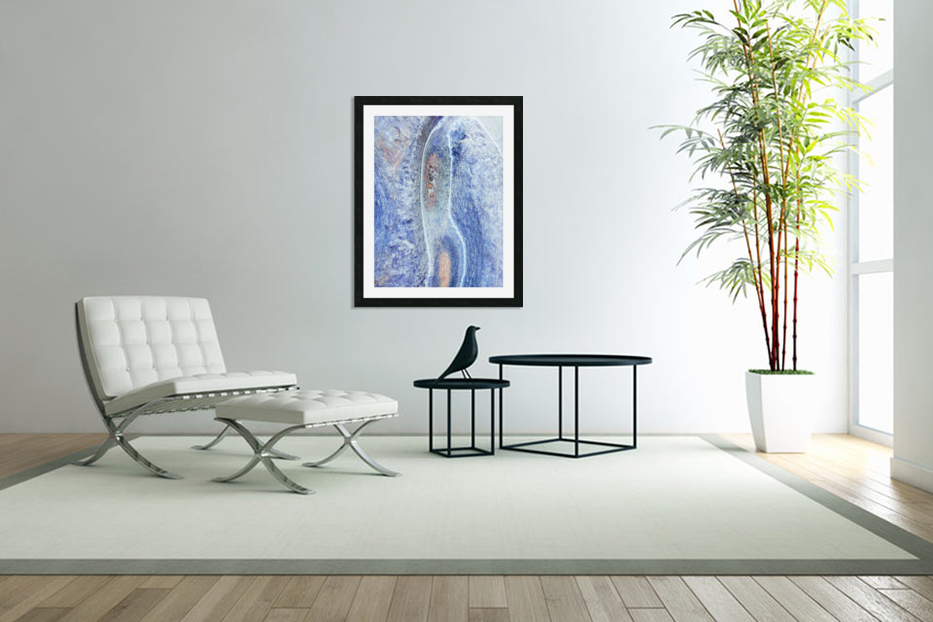 Australia Rocks - Abstract 10 in Custom Picture Frame