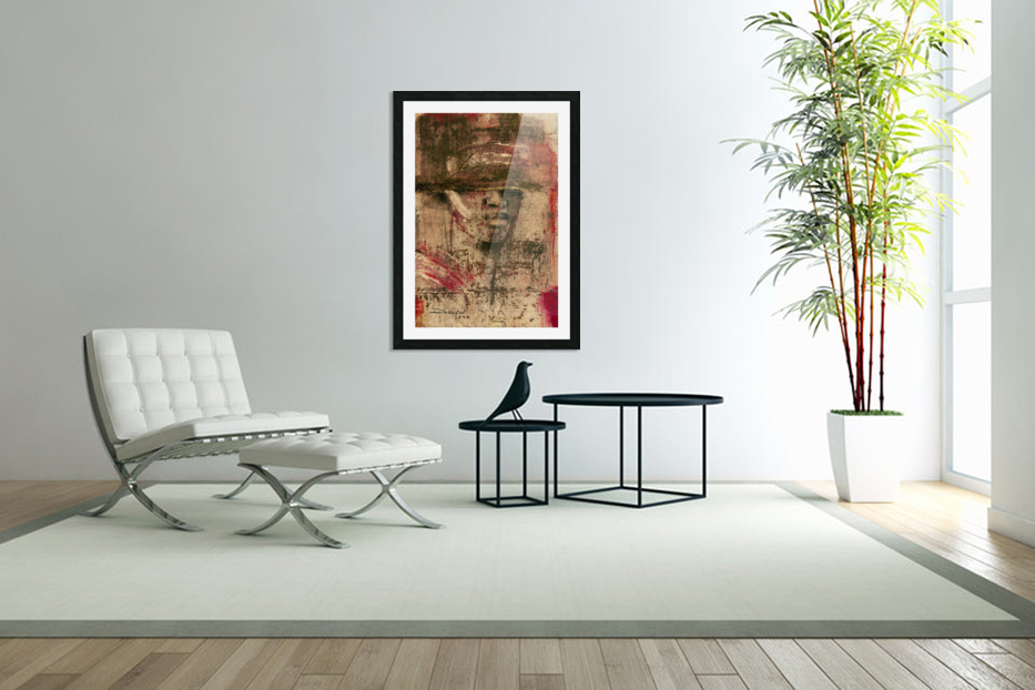 homme du sud in Custom Picture Frame