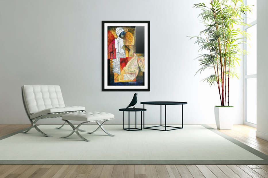 cavalier du sud in Custom Picture Frame