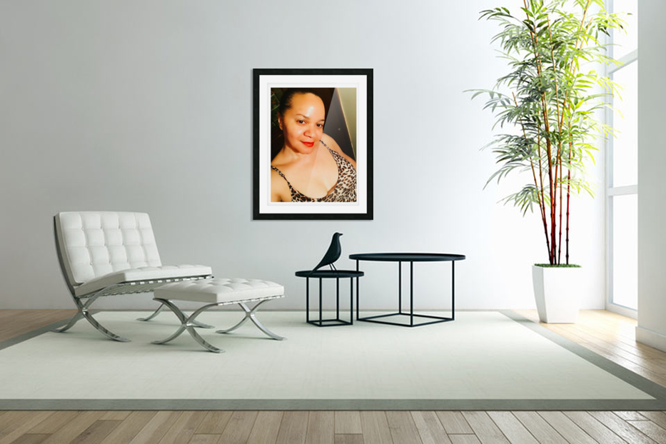 JustMe in Custom Picture Frame