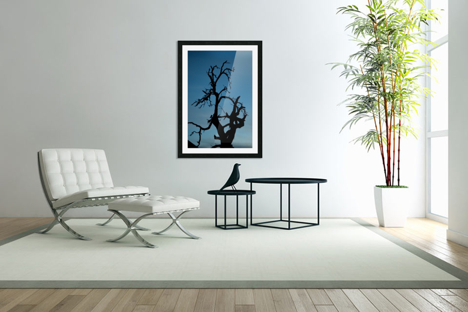 Haunted Tree in Custom Picture Frame