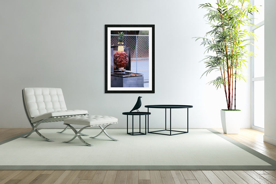 Ham and Pineapple in Custom Picture Frame
