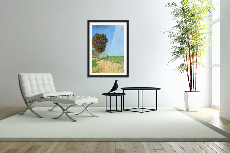 a lane near arles by van gogh van gogh canvas. Black Bedroom Furniture Sets. Home Design Ideas