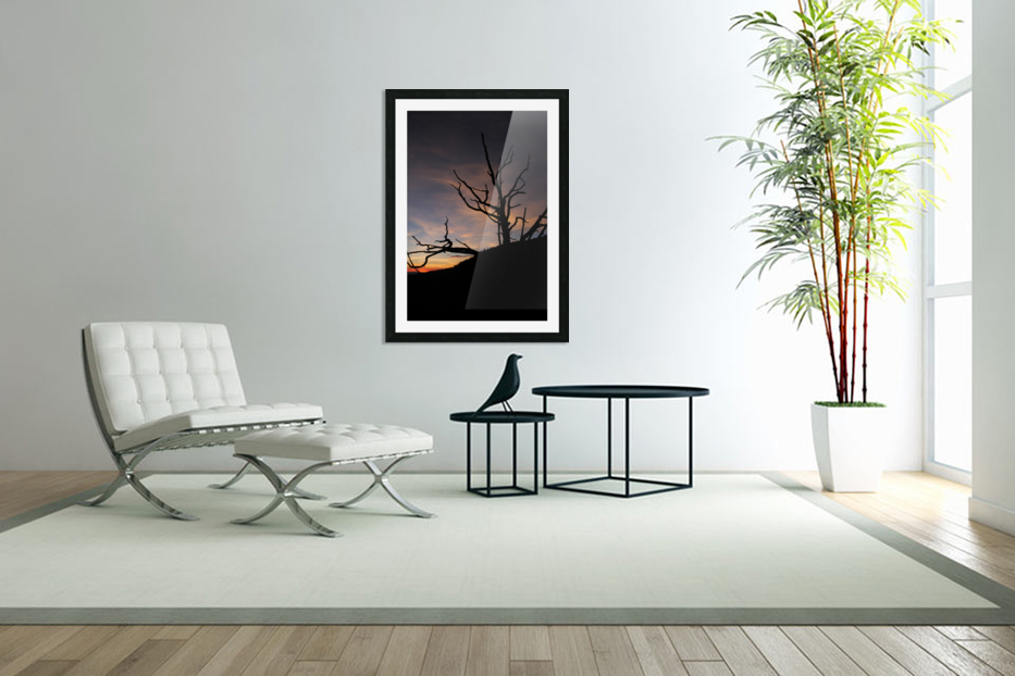 New Mexico Sunrise in Custom Picture Frame
