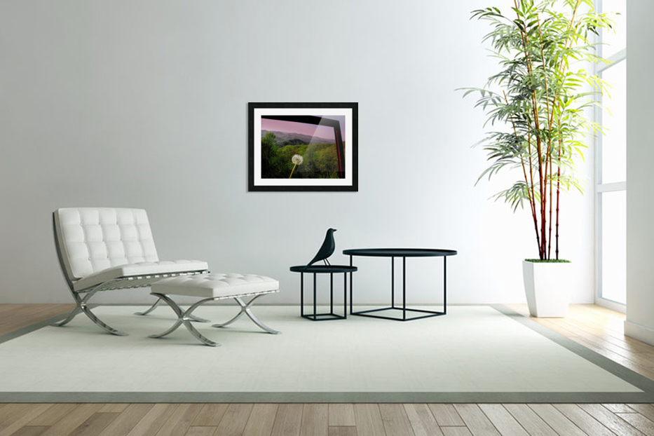 Alone yet Connected in Custom Picture Frame