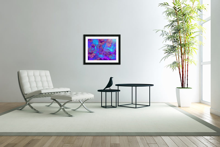 Summer Storm Clouds 9  in Custom Picture Frame