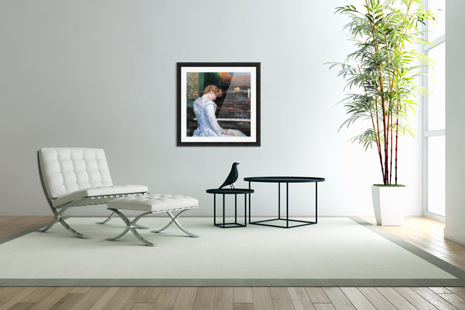 The Sonata by Hassam in Custom Picture Frame