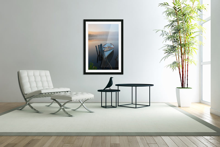 Morning Tranquility in Custom Picture Frame
